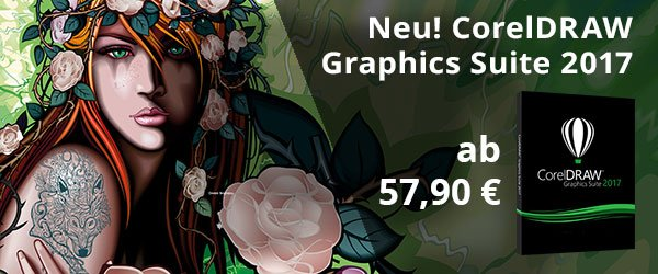 Neu! CorelDRAW Graphics Suite 2017