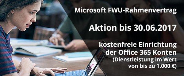 FWU-Rahmenvertrag Aktion bis 30.06.2017