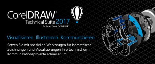 Neu! CorelDRAW Technical Suite 2017