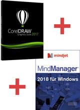 CorelDRAW 2017 + MindManager 2018