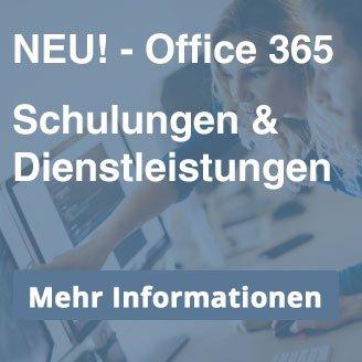 Schulungen & Dienstleistunfen für Office 365