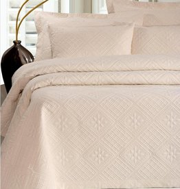 Town and Country Rombos Sprei Ecru 270 x 260 cm