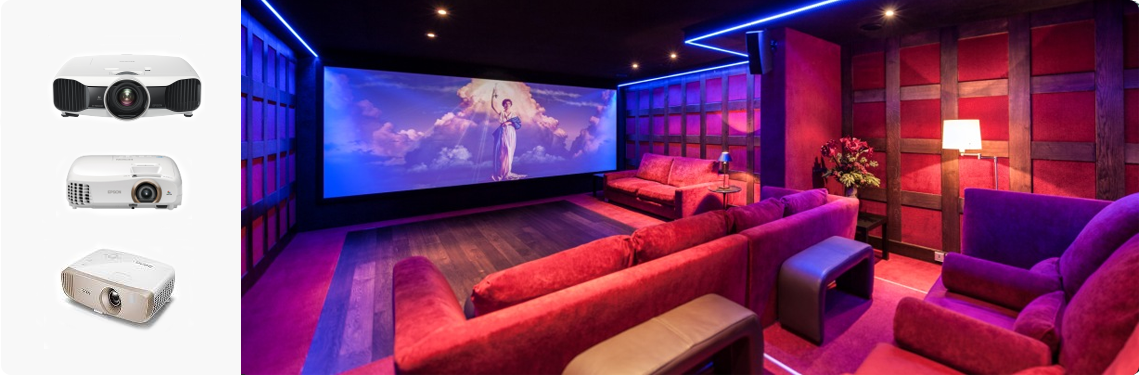 Home cinema beamers