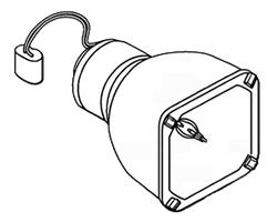 Originele lamp zonder behuizing