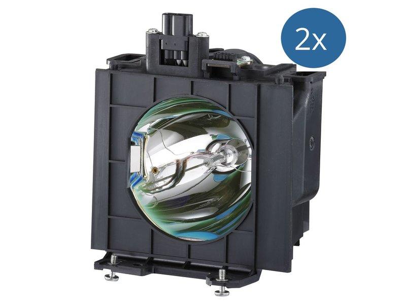 PANASONIC ET-LAD40W Originele lamp met behuizing