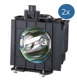 PANASONIC ET-LAD57W Originele lamp met behuizing