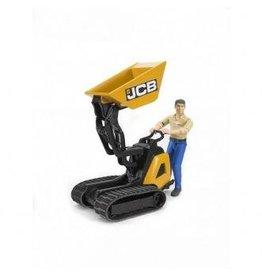 Bruder Bruder JCB Micro dumper HTD-5 met bestuurder