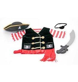 Melissa & Doug Melissa & Doug Piraat verkleed kleding