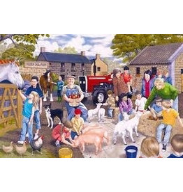 Gibsons Gibsons G2200 Puzzel Young Farmers 100 st.