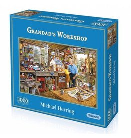 Gibsons Gibsons G6061 Puzzel Grandad's Workshop 1000 st.