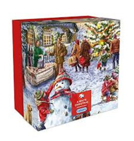 Gibsons Gibsons G3409 Puzzel A White Christmas, 500 st.
