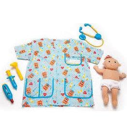 Melissa & Doug Melissa & Doug 18519 Kinderverpleegkundige verkleed kleding