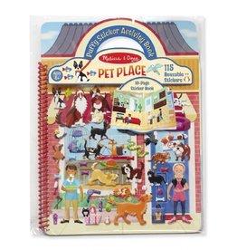 Melissa & Doug Melissa & Doug 19429 activiteitenboek stickers huisdieren