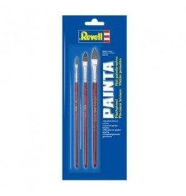 Revell Revell 29610 painta vlakke penselen set (3 delig)