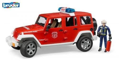 Bruder Bruder Jeep Wrangler Unlimited Rubicon Brandweer