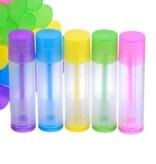5 stuks lipbalsemstift gekleurd 5,5 ml.