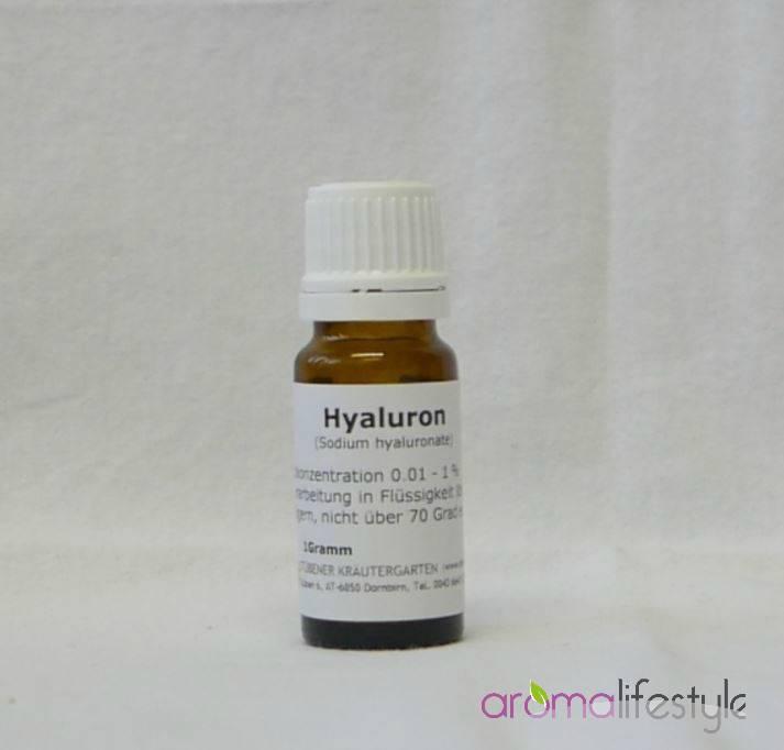 hyaluronzuur (hoogmoleculair) 1 gram