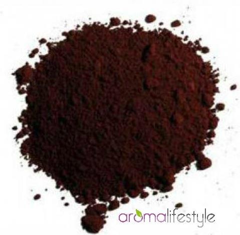 Natuurpigment (ijzeroxide) donker bruin 10 gram