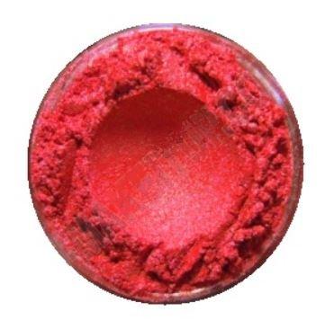 Parelmica warm rood