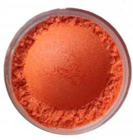 Parelmica warm oranje