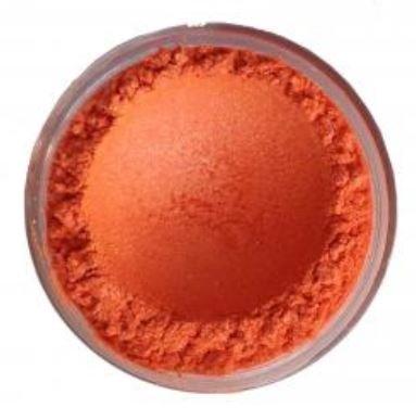 Parelmica warm oranje 5 gram