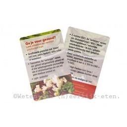 PUUR Rineke Portemonnee kaartje 'Ga je voor gezond?'
