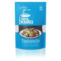 I sea pasta Tagliatelle van zeewier