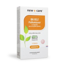 New Care Supplements B6 B12 Foliumzuur
