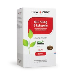 New Care Supplements Q10 & Kokosolie voordeelverpakking