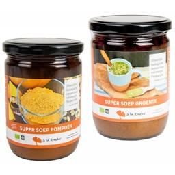 à la Rineke Aanbieding: Super Soep - 1 x groente & 1 x pompoen