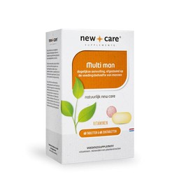 New Care Supplements Multi man voordeelverpakking
