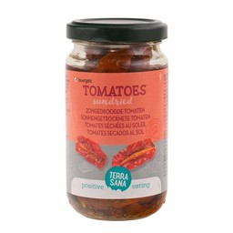 Terrasana Zongedroogde tomaten in olijfolie biologisch