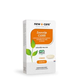 New Care Supplements Vitamine C (ontzuurd) - 60 tabletten