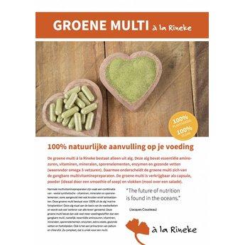 à la Rineke Folder Groene Multi - per stuk