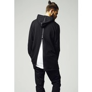 Urban Classics Long Shaped Back Zipped Hoody