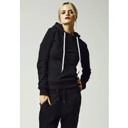 Urban Classics Ladies Melange Shoulder Quilt Hoody