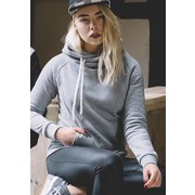 Urban Classics Ladies Raglan High Neck Hoody