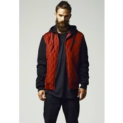 Urban Classics Hooded Diamond Quilt Nylon Jacket