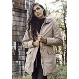 Urban Classics Ladies Garment Washed Long Parka