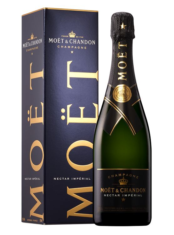 Moët & Chandon Moët & Chandon Nectar Impérial in giftbox 75CL