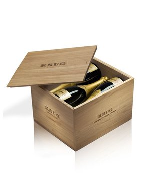 Krug Grande Cuvée Giftbox trois editions