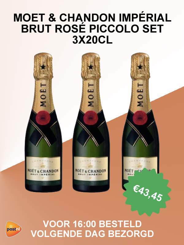 Moët & Chandon piccolo set