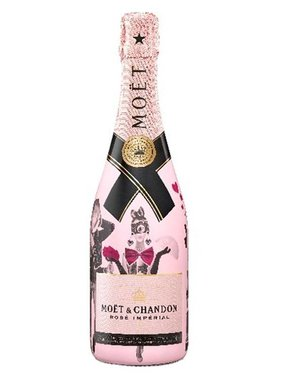 Moët & Chandon Unconventional Love Sleeve 75CL
