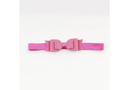 Made for a princess Mini Bow Soft Band Bubblegum