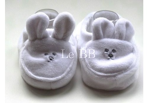 LPC Kaninchen Bootie Creme neugeboren