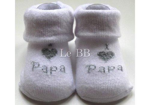 LPC Ich liebe Papa Socken