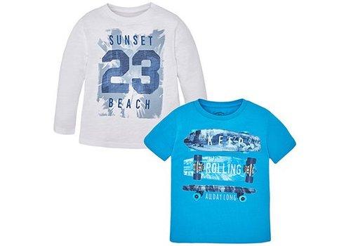 Mayoral T-shirt set