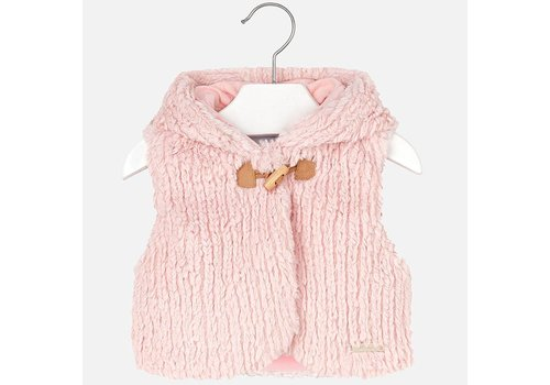 Mayoral Hooded Vest baby Girl