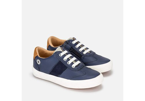 Mayoral Urban Style with Suede Sneakers