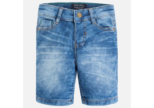 Mayoral Stonewash Jeans Shorts Boy
